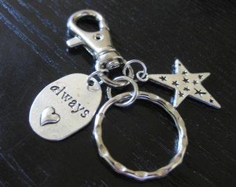 Always A Star Key Ring