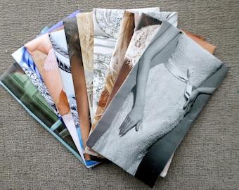 Envelopes, Set of 10 Mini, Bridal/Wedding Themed