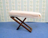 Dollhouse Ironing Board Miniature Furniture Folding Wood