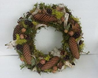 Oregon woodland wreath