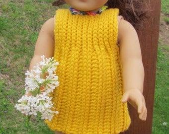 Sale! Pattern 85 18 inch Doll Side to Side Mini Dress Set