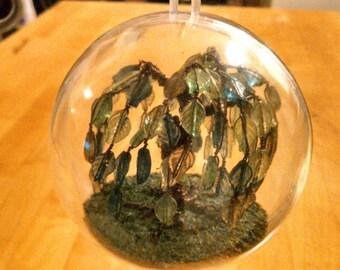 Willow Tree Orb  -  ornament - decor - Tree of Life