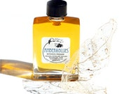 Amber & Blues Botanical Perfume - Mother's Day Gift - A Warm Elegant Floral Amber - Organic, Vegan - 12 ml glass bottle