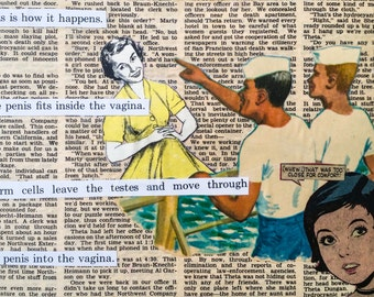 Shore Leave - Original Collage