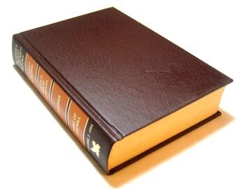 Readers Digest condensed book volume 2 1994 brown book, vintage brown book decor