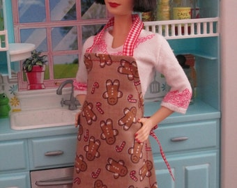 COOKIE  APRON  for BARBIE