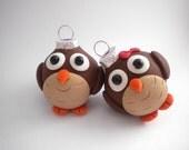Owl Mini Ornaments