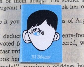 Miniature Classic Novels Book Necklace Charm Wonder