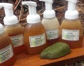 patchouli vanilla lemongrass  Foam Soap