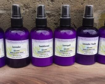 Lilac Body Linen Spray