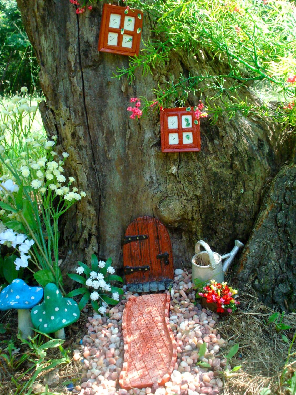 Fairy Door Kit Fairy Doors And Windows Fairy Garden Kit
