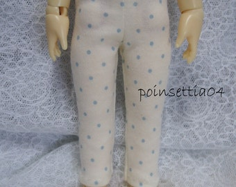 Super Dollfie Yo SD Littlefee Blue Polka Dot Leggings