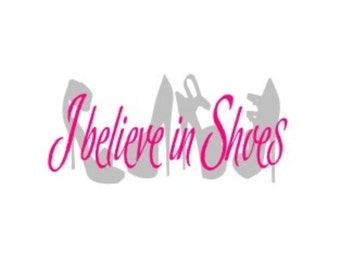 Vinyl Decal I believe in Shoes