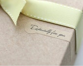 Kraft Paper Especially For You Sticker (24pcs) Kraft Paper Seal Sticker Product Packaging Party Favor Wrapping Wedding Gift Decoration S081