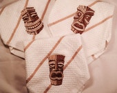 Tiki Bar Mop towels, set of 3