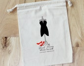 BACHELORETTE Party  - Personalized Favor Bags - Set of 10 - Wedding - Bridal Shower