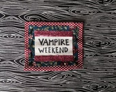 Vampire Weekend Pink Glitter Mix Match mini Patch