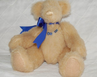 Cute Handcrafted Light Brown Teddy Bear
