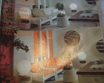 1001 Decorating Ideas Magazine Spring 1970