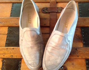 Vintage Bally of Switzerland Men's Leather Loafer Shoes Sz 11 M 11M