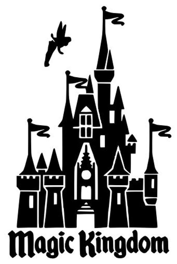 Items similar to Magic Kingdom Cinderella's Castle with ...