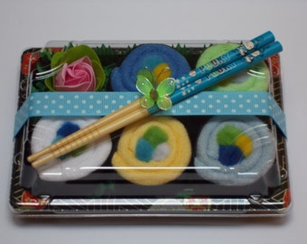 Baby Sushi Rainbow Roll set for Boys