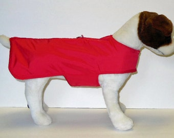 Rip Stop Raincoat Harness-Vest for Small Dog,