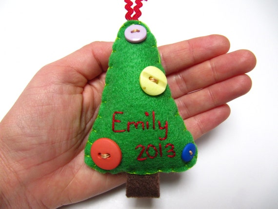Items similar to personalized christmas tree ornament for Custom christmas tree ornaments