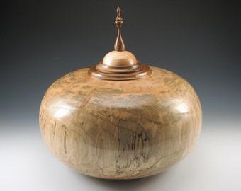 Spalted Maple Vessel / Urn