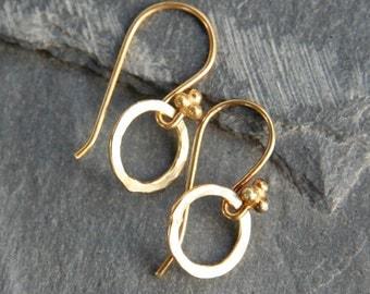 Teeny Circle Earrings
