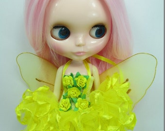 Blythe Outfit Clothing Cloth Fashion costume fairy ballet dress 300-100-7