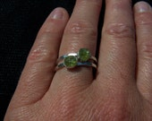 Colorado San Isabelle Peridot Ring in Sterling Silver : Made to Order