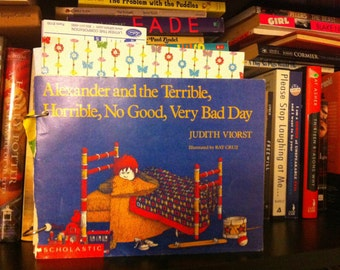 Alexander and the terrible, horrible, no good, very bad day journal book homemade