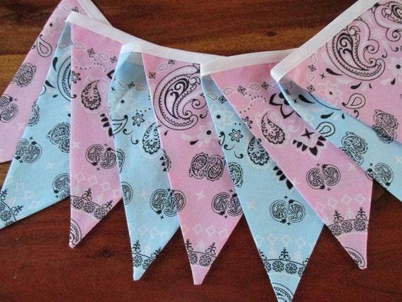 how to make a bandana banner