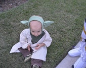 Yoda Costume (2pc) Toddler