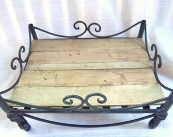 Vintage Lattice Repurpose/Upcycle Display/Candle Stand/Centerpiece