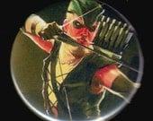 Straight As A Green Arrow Button