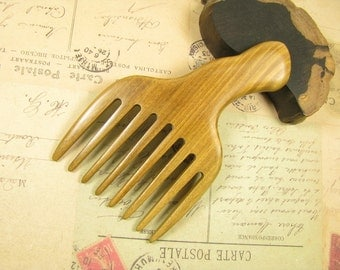 Fragrant Verawood Hair Pick Hair Comb