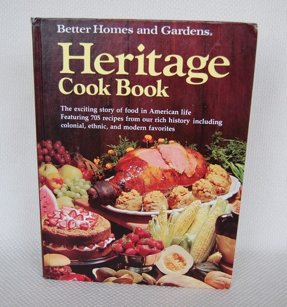 Vintage better homes and gardens heritage by funkyjunkyvintage Better homes amp gardens recipes
