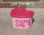 VALENTINES Personalized Pink Heart Container