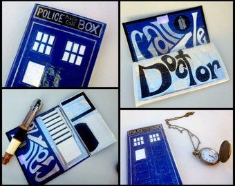 Doctor Who TARDIS Duct Tape Wallet