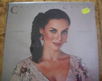 Crystal Gayle, Classic Crystal, Vinyl LP Record Album,  by Nanas Vintage Shop