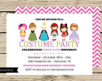 Dress up party invitations party dressesdressesss dress up party invitations stopboris Images