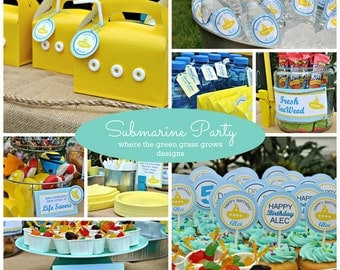 Submarine Party Package