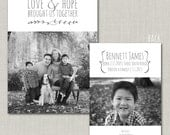 Love and Hope Adoption Announcement - Set of  25 PRINTED with envelopes