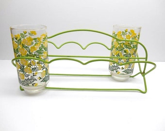Vintage Glass Caddy