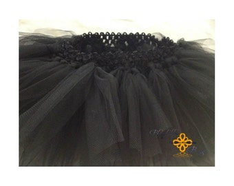 Little Girl Black Tutu