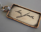 Handwriting Necklace-Personalized Necklace