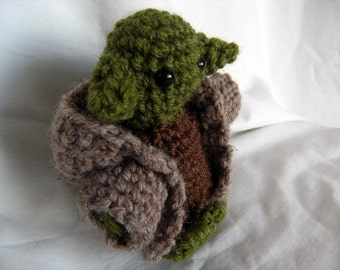 Master Yoda Crochet Pattern