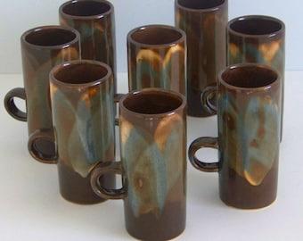 Set of 8 Caffe D'Vita Coffee Mugs